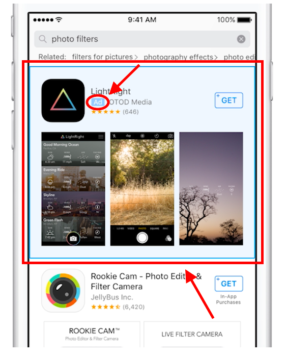 search-match-app-store-ad